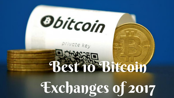 best 10 bitcoin exchanges