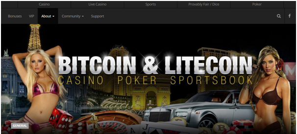 Betcoin casino Poker games