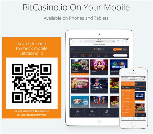 Bitcasino- Mobile
