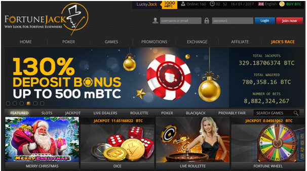 Fortune Jack Bitcoin Poker