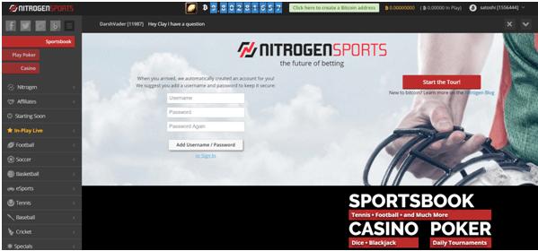Nitrogen Bitcoin Poker