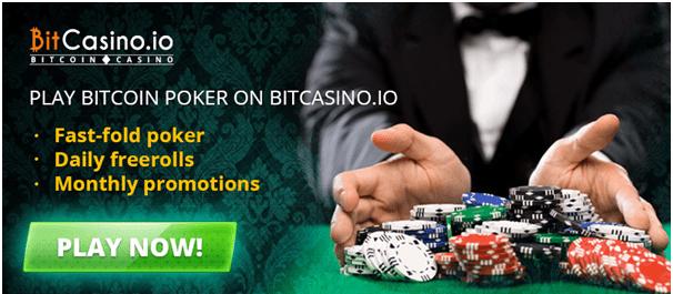 Bitcasino poker