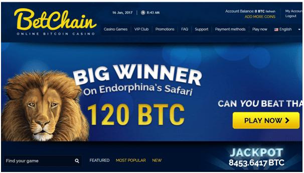 Betchain bitcoin poker