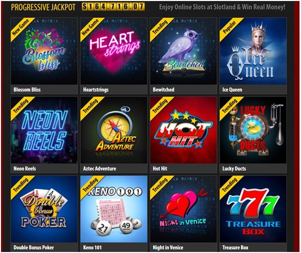 Online Bitcoin Casino Slots at slotland