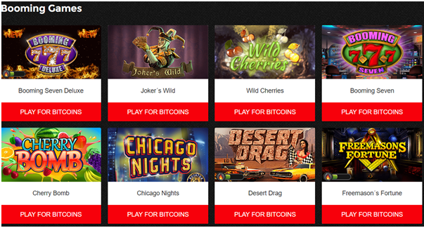 mBit Casino Games