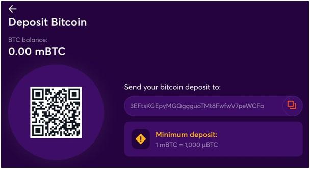 Bitcasino- Banking