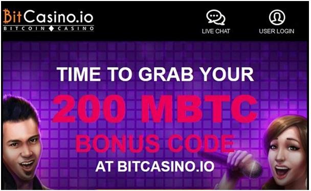 Bitcasino bonus code