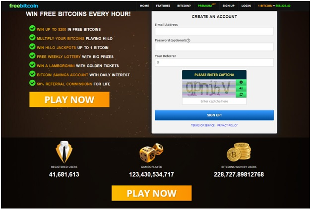 Bitcoin faucet sites