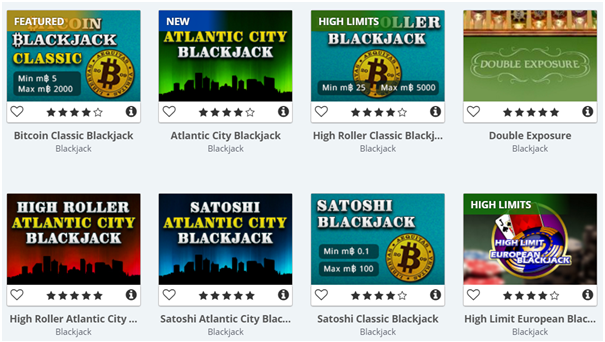 Blackjack BTC