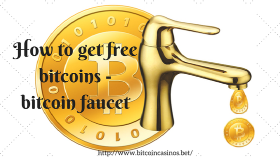 How to get free bitcoins - bitcoin faucet
