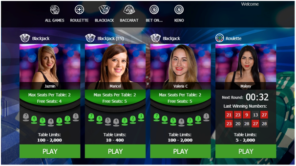 Live Dealer BTC Casino