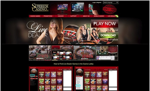Superior casino live
