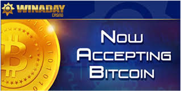 Winaday casino- BTC deposit