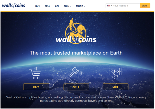 Wall of Coins BTC Exchange