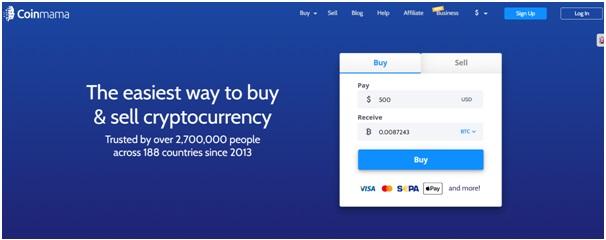 Coinmama bitcoin exchange