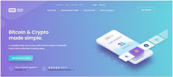Digital Surge bitcoin exchange