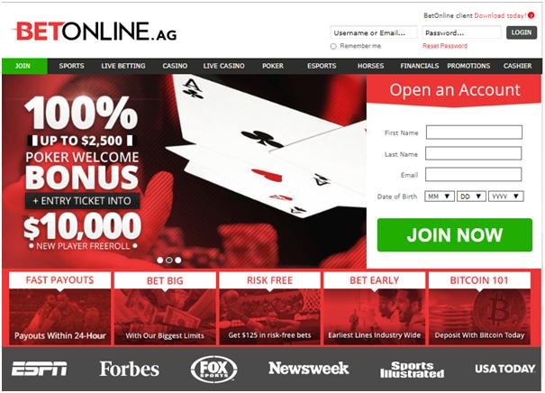 Betonline.ag LTC casino