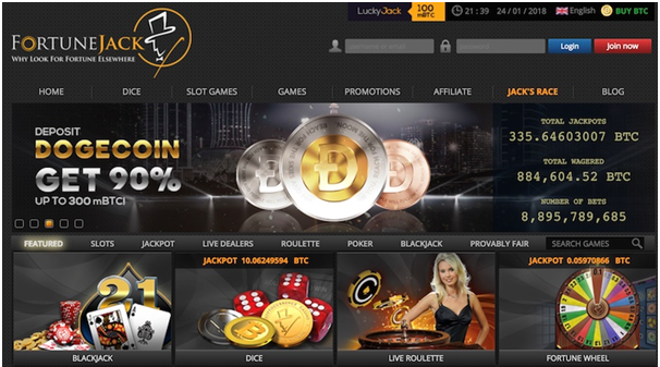 Dogecoins casinos