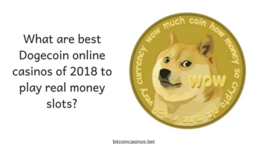 What are best Dogecoin online casinos of 2018 to play real money slots_