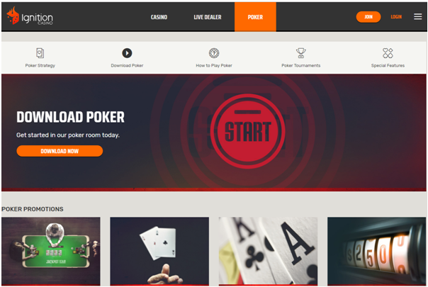 Ignition Casino Poker games