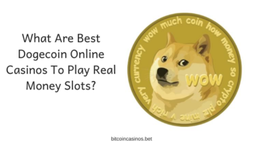 What are best Dogecoin online casinos to play real money slots_