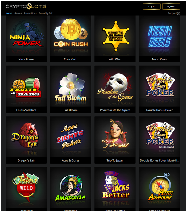Cryptoslots games