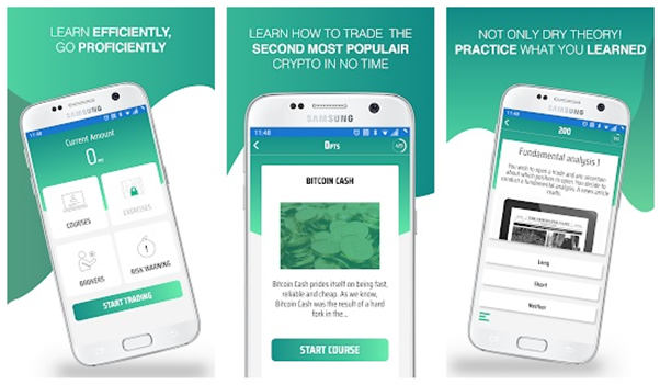 Bitcoin cash app to learn how to trade