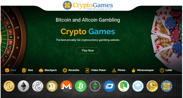 Cryptogames Dice