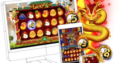 Dragon's Lucky 8 BTC Slot to play at Casinos with Win Multipliers and Free Spins