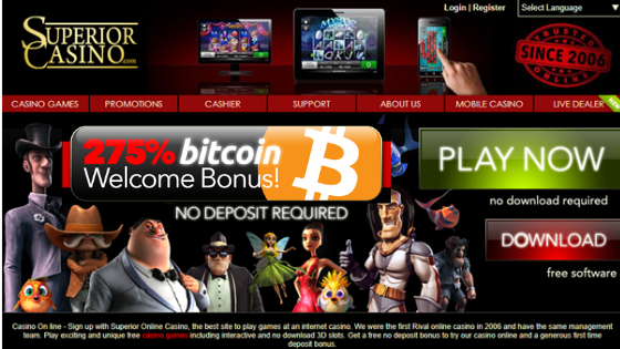 Superior Bitcoin Casino