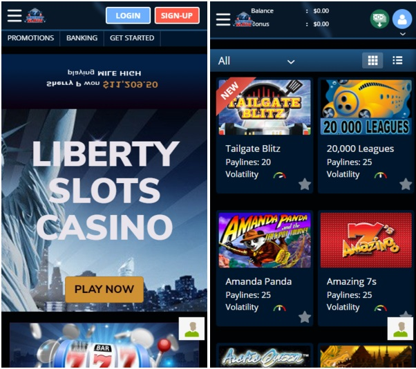 Play Instant Games at Liberty Slots with your mobile