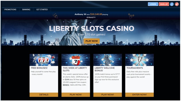 Liberty slots Bitcoin casino