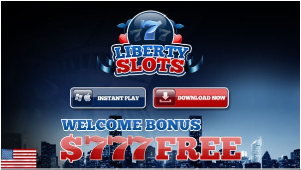 Liberty slots welcome bonus of $777 all free to play BTC games
