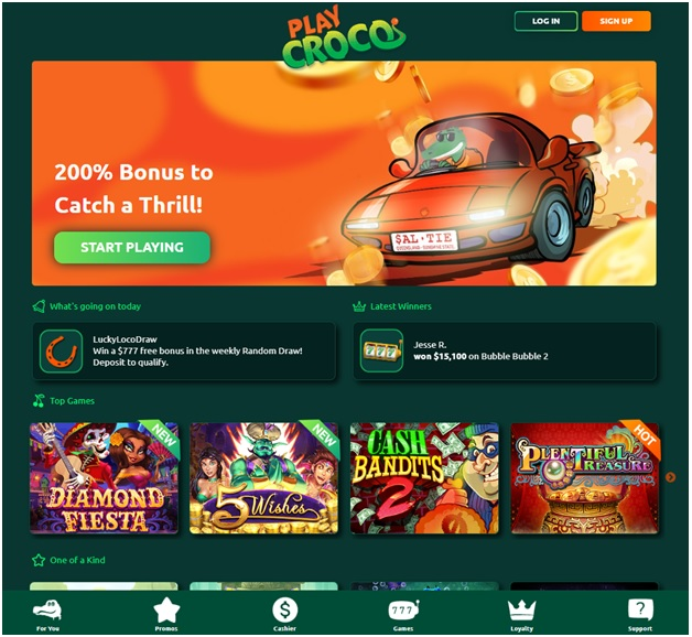 Play Croco Bitcoin Casino