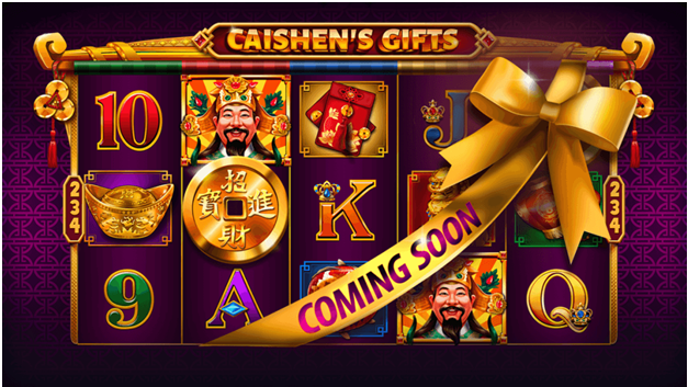 Caishen gifts new slot machine
