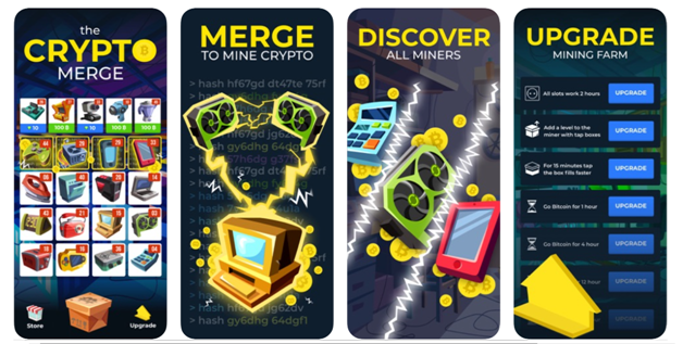 The Crypto Merge - Get Bitcoin app