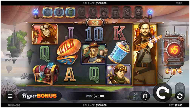 Sky Hunters Bitcoin slot