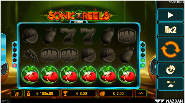 Sonic Reels slot to play