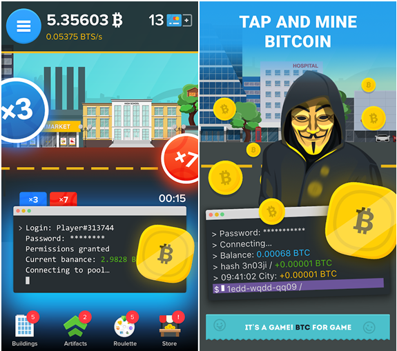 Two New iPhone Game Apps to get Bitcoins