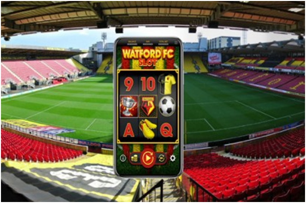 Watford FC new slot machine