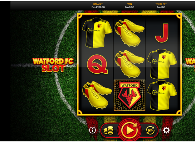 Watford FC - New BTC slot to play