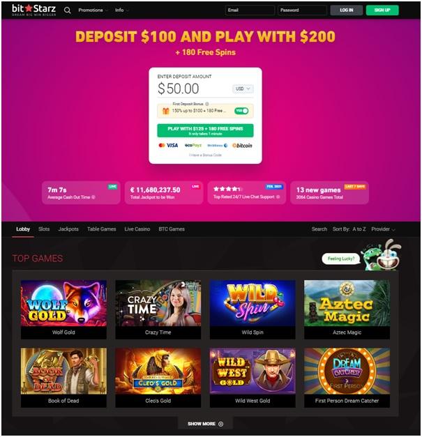 Bitstarz Casino for US players