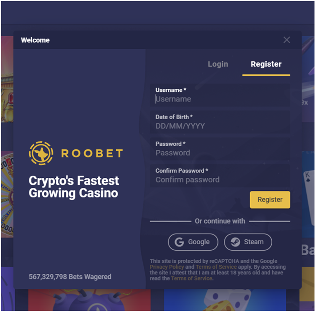 How to get started at RooBet CasinoHow to get started at RooBet Casino