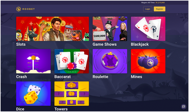 How to play games at RooBet Casino from USA
