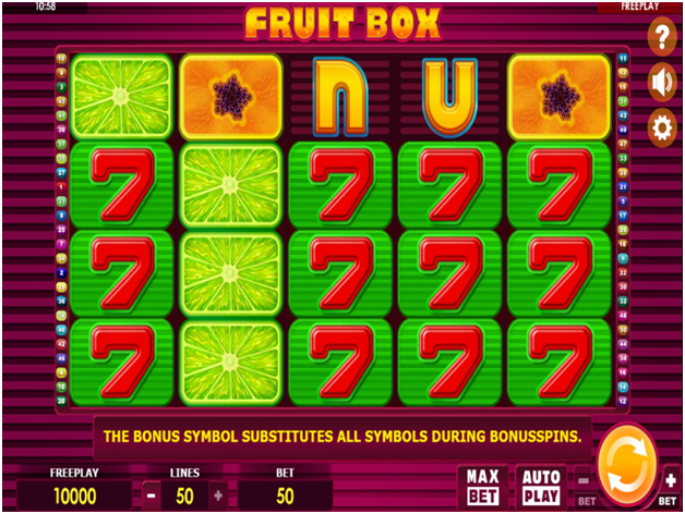 the highest RTP Slots at online casinos- Fruit Box