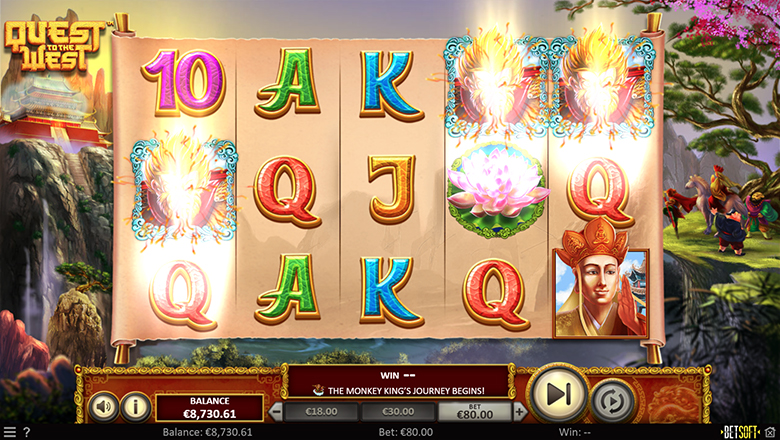 the highest RTP Slots at online casinos- Quest to the west