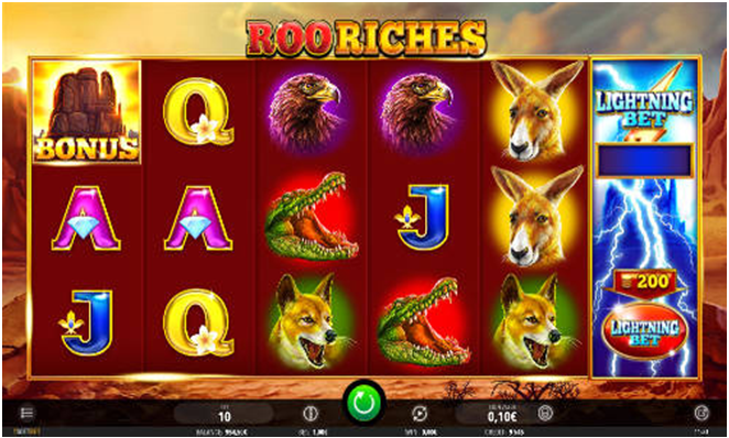 the highest RTP Slots at online casinos- Roo Riches