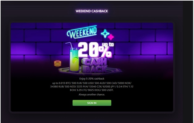 7 bit casino- weekend bonus