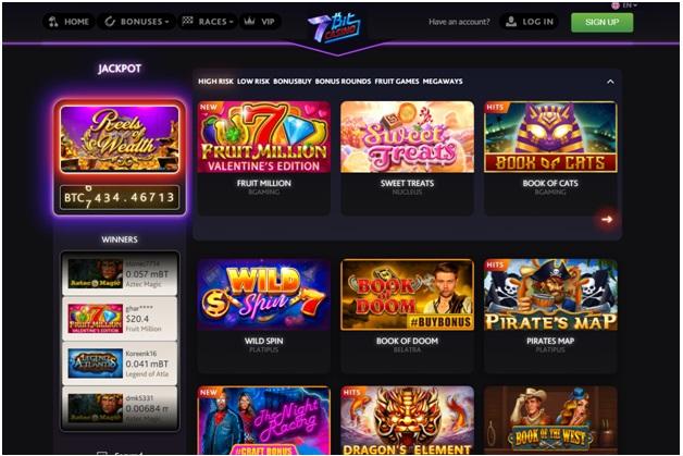 7 bitcoin casino