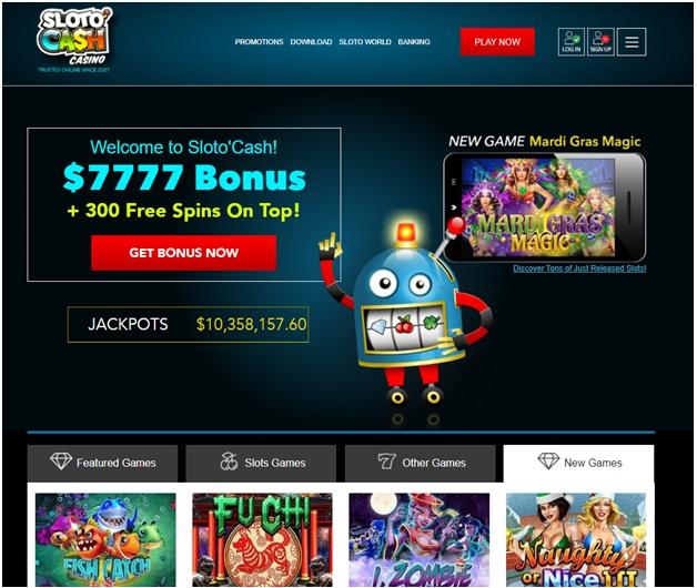 Online casino Bitcoin withdrawal- Slotocash